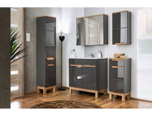 Fürdőszoba bútor - szürke - BARI