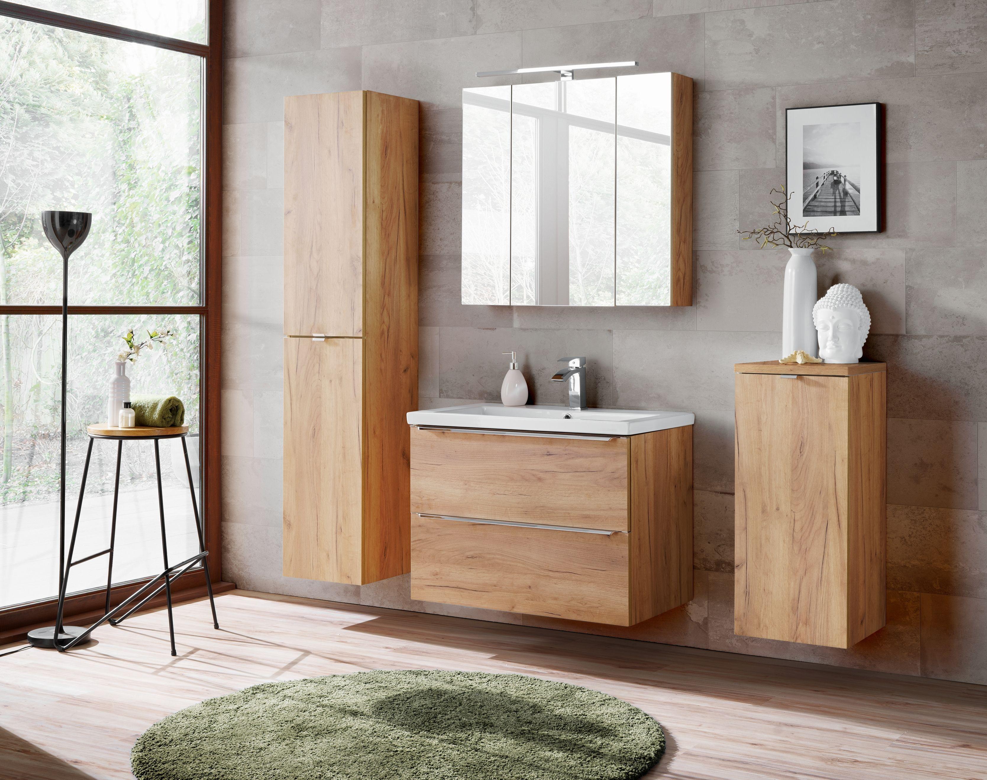 Fürdőszoba bútor - arany - CAPRICE GOLD
