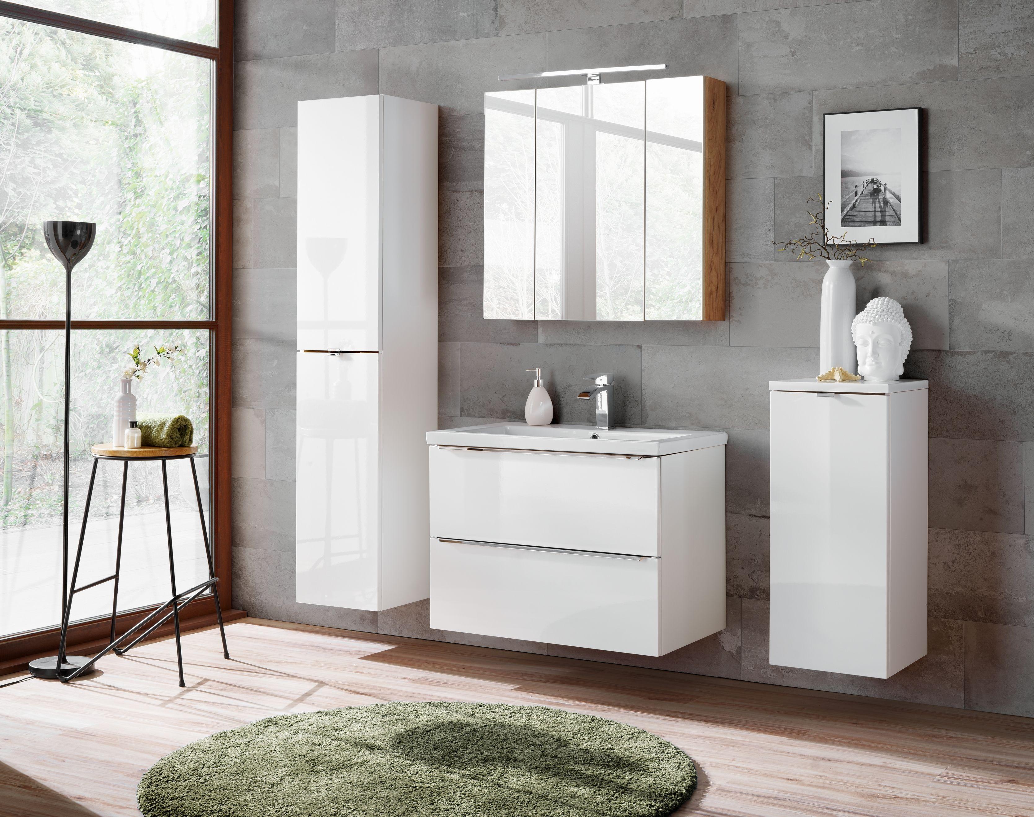 Fürdőszoba bútor - fehér CAPRICE