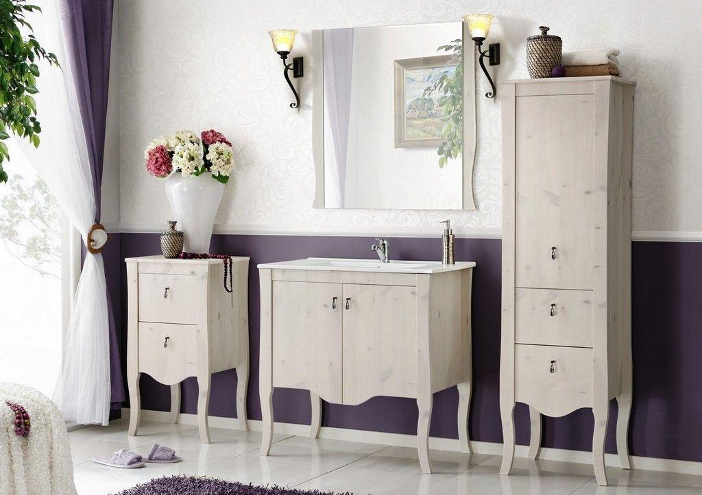 Fürdőszobabútor - fehér - ELIZA