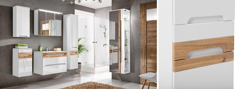 Fürdőszoba bútor - fehér - GALAXIS