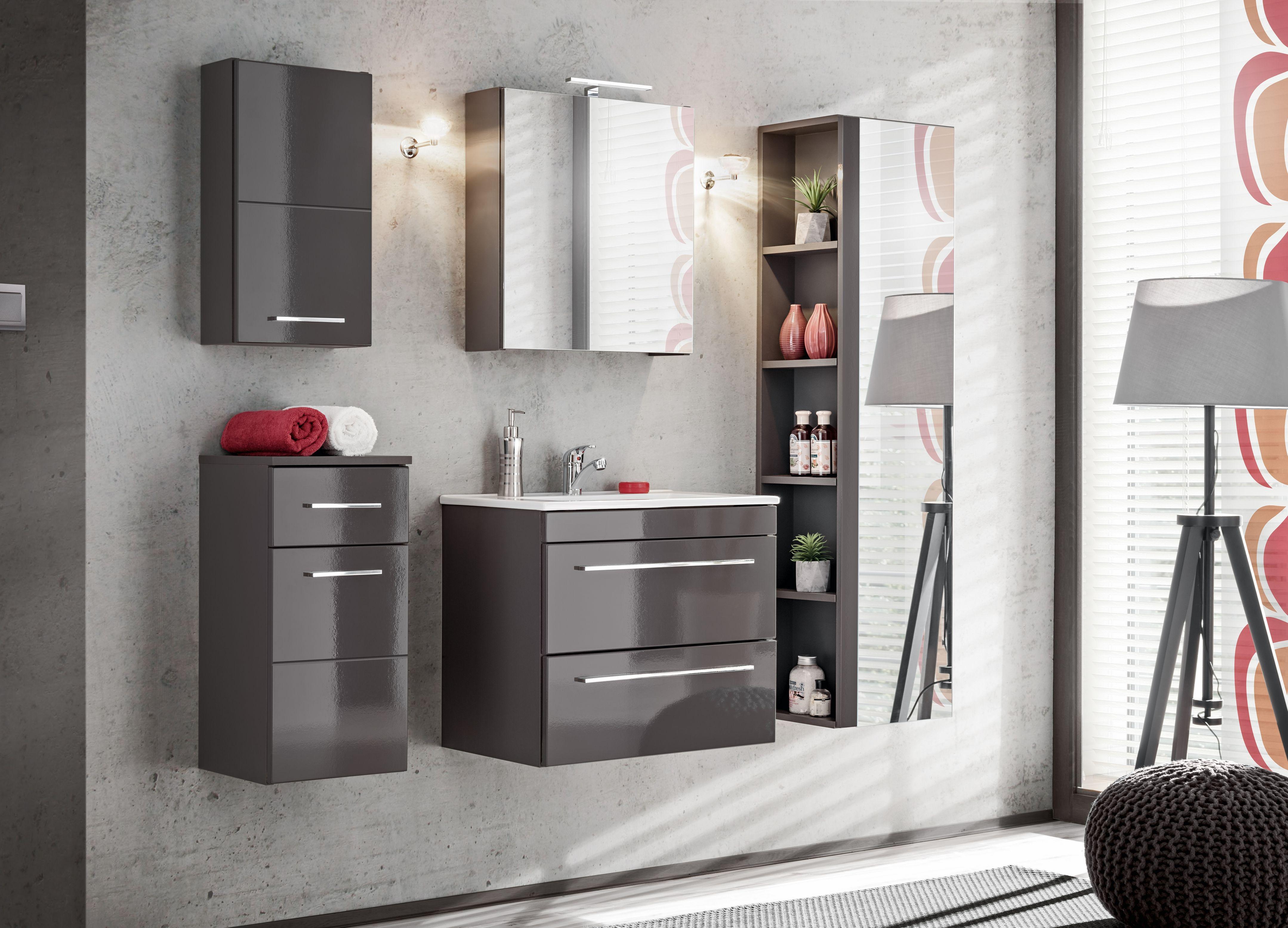 Fürdőszoba bútor - VIS GREY