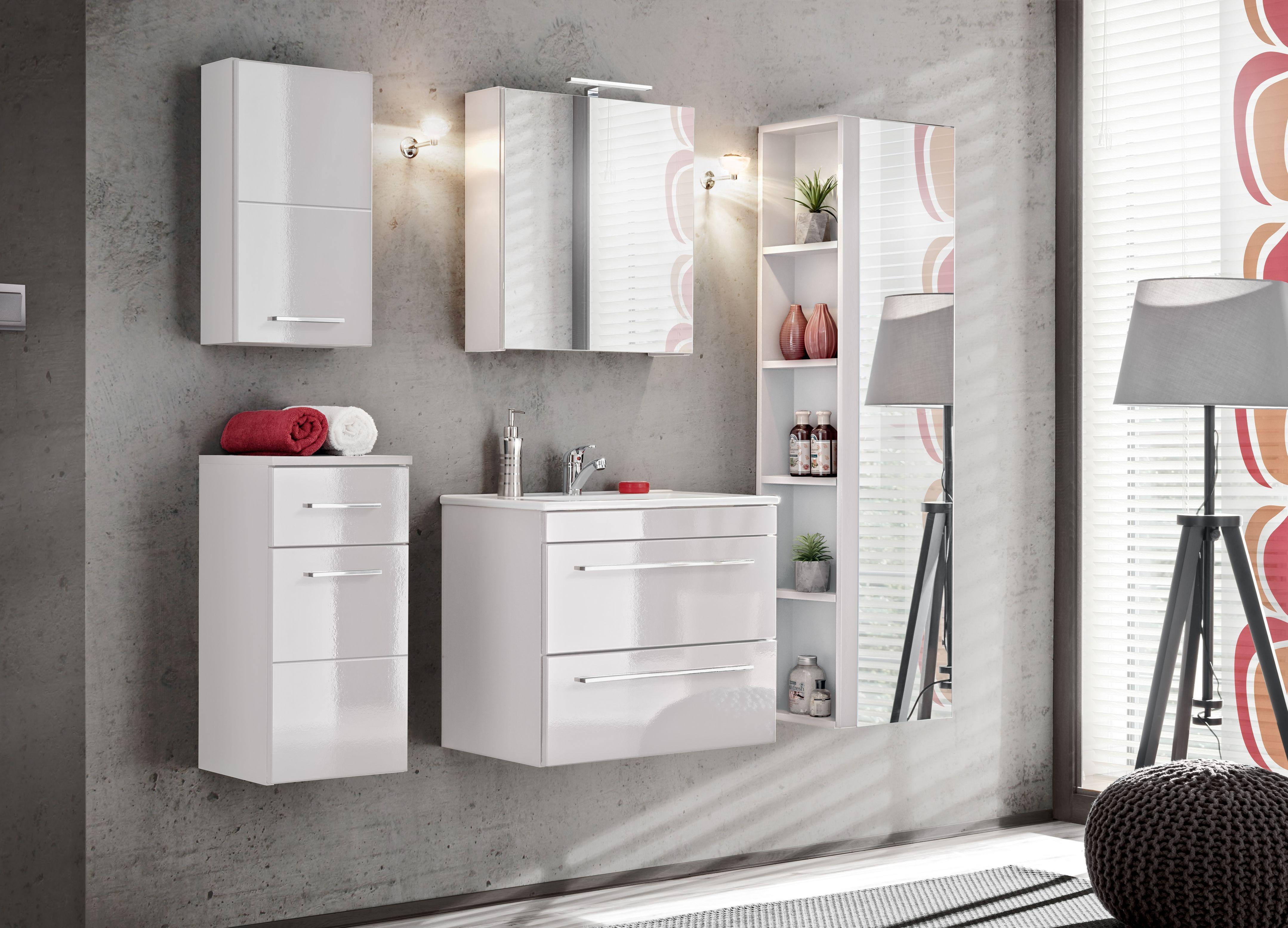 Fürdőszoba bútor - VIS WHITE