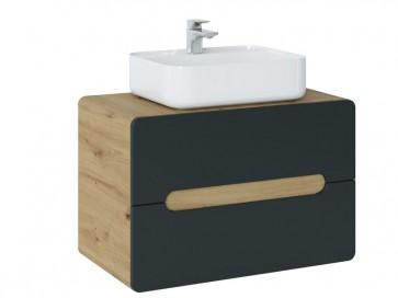 Pultos szekrény mosdóhoz fürdőszobába 60 - 2S – ARAWAK COSMOS