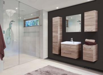 Sonoma tölgy fürdőszoba szett (6 részes) – Léna sonoma 60