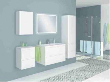 Magasfényű fürdőszoba bútorszett (5 részes) – Libre 60