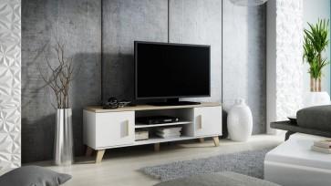 Modern TV állvány, 2 ajtóval, 1 polccal - Lolita '160'