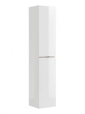 Magas szekrény fürdőszobába 35 - 2D – fehér - CAPRICE WHITE