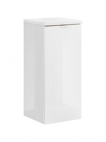 Alsó szekrény szennyestartó kosárral fürdőszobába 35 - 1D – fehér - CAPRICE WHITE