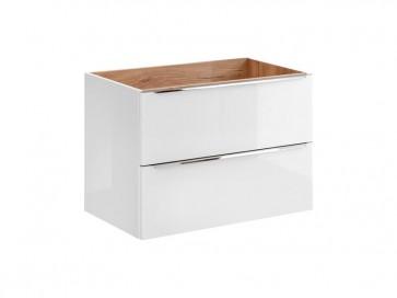 Szekrény mosdóhoz fürdőszobába 80 - 2S – fehér - CAPRICE WHITE
