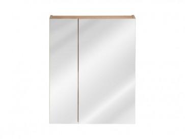 Tükrös szekrény fürdőszobába 60 - 2D – tölgy - CAPRICE GOLD
