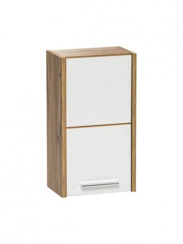 Felső szekrény fürdőszobába 30 - 1D – fehér - EIVISSA WHITE