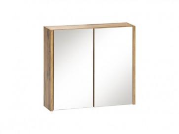 Tükrös szekrény fürdőszobába 30 - 1D – fehér - EIVISSA WHITE