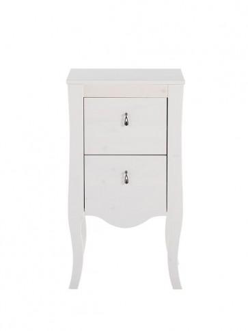 Alsó szekrény fürdőszobába 45 2S - fehér - ELIZA front