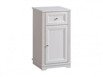 Alsó álló szekrény fürdőszobába 43 1D/1S - fehér - PALAZZO WHITE