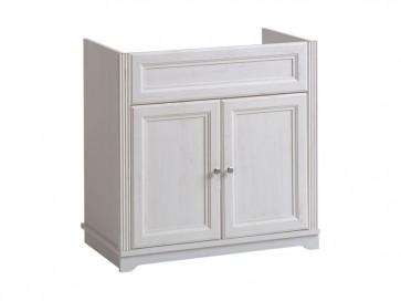 Mosdó alatti fürdőszobába 80 2D - fehér - PALAZZO WHITE