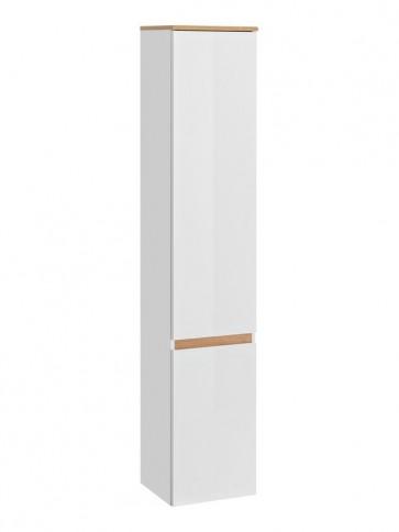 Magas szekrény fürdőszobába 35 - 2D – fehér - PLATINO