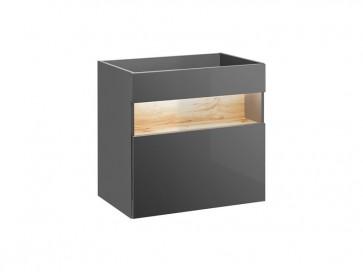 Mosdó alatti szekrény fürdőszobába 60 1S - szürke - TAINO GREY