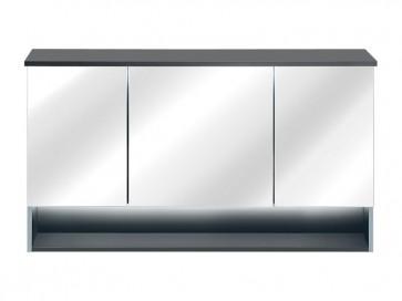 Tükrös szekrény fürdőszobába 120 3D - TAINO MINT (front)