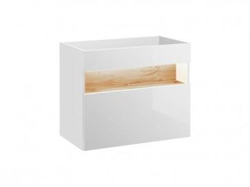 Mosdó alatti szekrény fürdőszobába 80 1S - fehér - TAINO WHITE