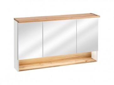 ükrös szekrény fürdőszobába 120 3D - fehér - TAINO WHITE