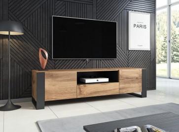 Design TV szekrény TREE wotan tölgy-antracit