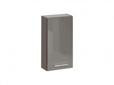 Felső szekrény fürdőszobába 30 - 1D - VIS GREY