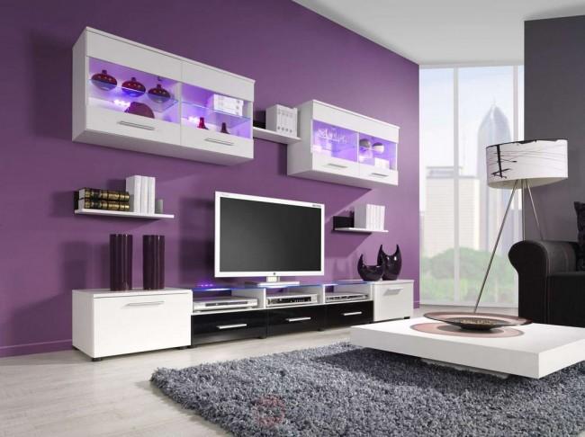 Trendy nappali bútor - többféle színben – Curtis