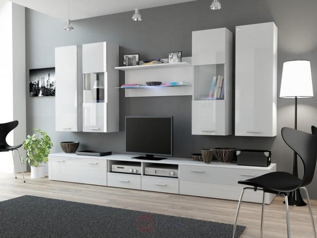 Modern nappali szekrénysor többféle színben – Dear II.