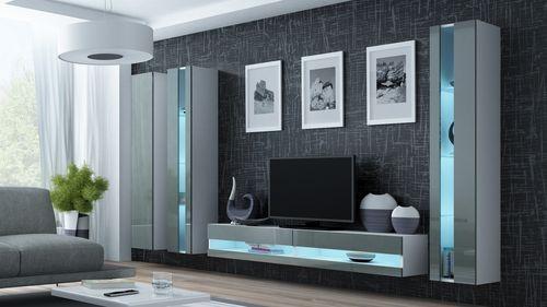Stílusos nappali szekrénysor (4 színben) – Viral new VI