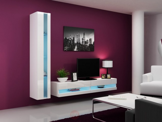 Modern nappali szekrénysor -Viral new VIII.