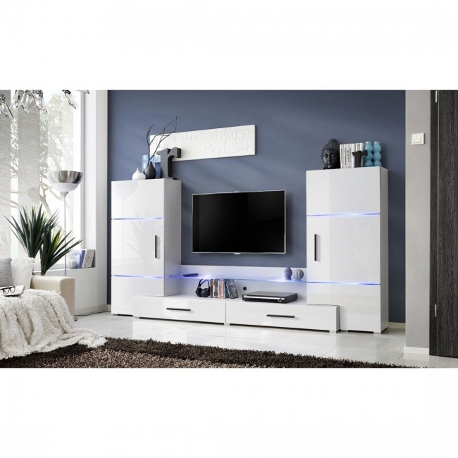 magasf ny modern nappali b tor szett 4 sz nvari ci ban led vil g t ssal torre i. Black Bedroom Furniture Sets. Home Design Ideas
