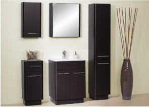 Modern fürdőszobabútor szett (6 részes) – Róma wenge 80
