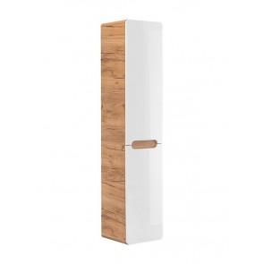 Magas szekrény szennyestartóval fürdőszobába 35 - 2D - ARAWAK