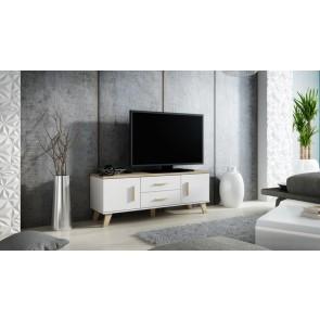 Modern TV állvány, 2 ajtóval, 2 fiókkal - Lolita