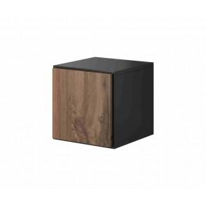 Kocka alakú modern nappalibútor (antracit / wotan)