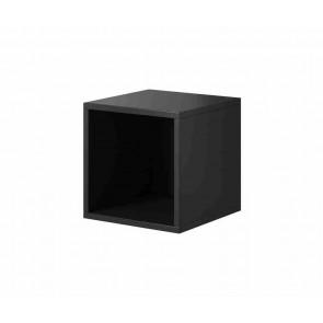 Kocka alakú nyitott nappalibútor (antracit)