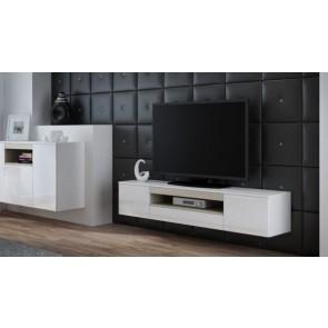 Modern magasfényű TV állvány - Vivien   - 5