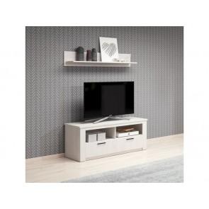 Stílusos TV szekrény + falipolc SUOMI
